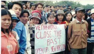 Clinton and Vietnam's generation gap