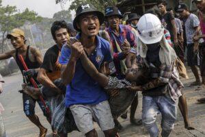 Burma as failing state: The road to civil war
