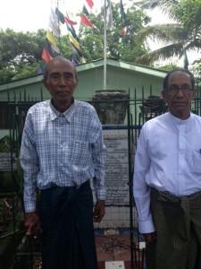 Saw Hla Pru and Maung Tin