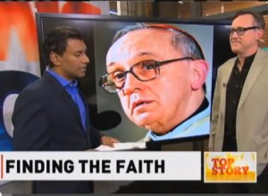 CBC Television interview on Pope Francis