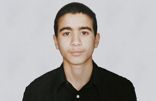Omar Khadr as a teenager.