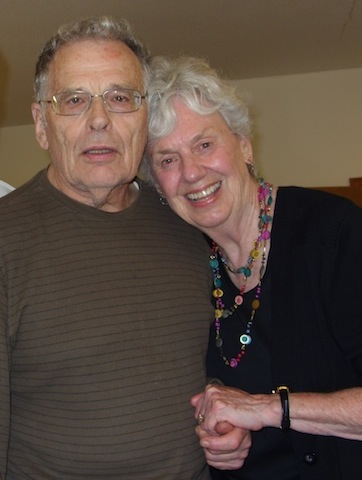 PARTNERS IN POETRY--Years of correspondence between Jack Sproule and Leanne McIntosh inspired McIntosh's latest book of poems, Dark Matter, which also features philosophical musings of Father Jack